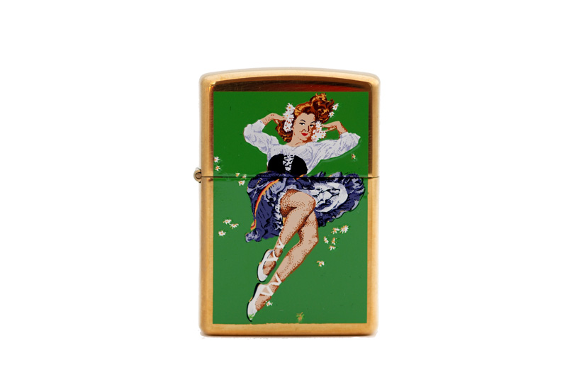 21 st century archives flower girl zippo lighter