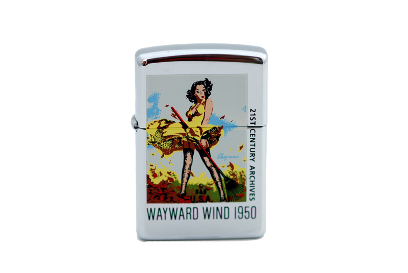 zippo lighter 21 st century archives gil elvgren wayward wind
