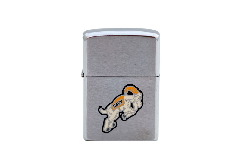 vintage zippo cigarette lighter U.S. navy 200th anv.