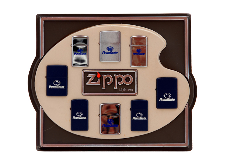 vintage zippo cigarette lighter penn state display 2