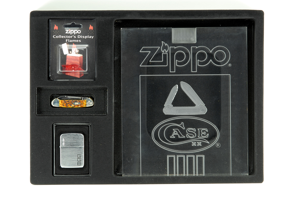 zippo 10th anv. visitor center display 1